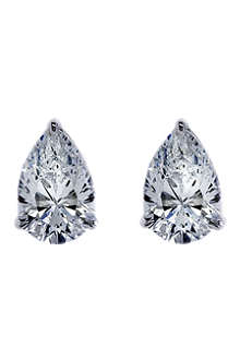 CARAT 1ct brilliant cut pear studs