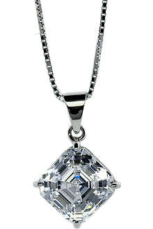 CARAT 0.25ct Asscher cut pendant necklace