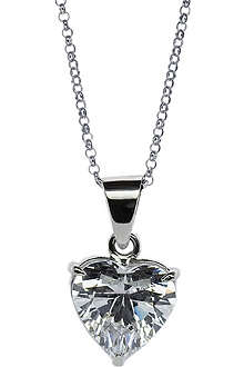 CARAT White gold 2.5ct solitaire pendant necklace