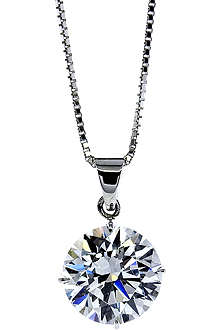 CARAT Round 1ct solitaire pendant necklace