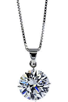 CARAT Round 2ct solitaire pendant necklace