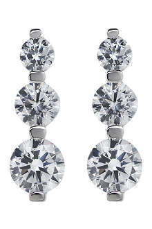 CARAT Diamond drop earrings