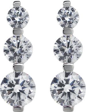 CARAT 3 Times Round drop earrings