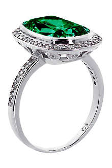 CARAT Grand 9ct emerald cushion ring