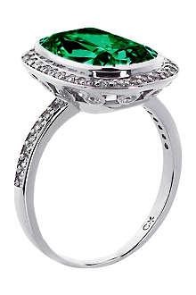 CARAT Grand 9ct emerald cushion ring