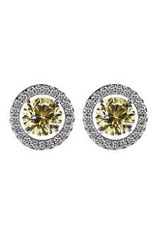 CARAT Round 0.5ct yellow border set studs