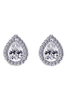 CARAT Pear 1.25ct borderset stud earrings