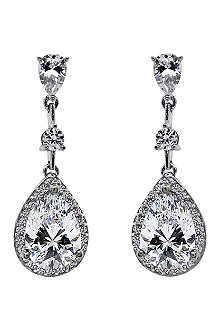 CARAT Baptisia 2.75ct pear drop earrings
