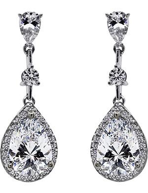 CARAT Baptisia 2.75ct pear drop earrings