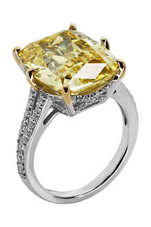 CARAT Grand canary 8ct sterling silver ring
