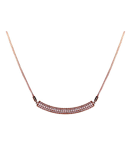 CARAT LONDON Electra Millennium rose gold-vermeil necklace