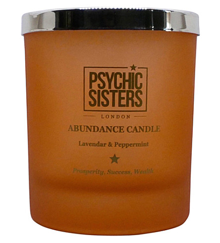 PSYCHIC SISTERS Abundance candle 150g