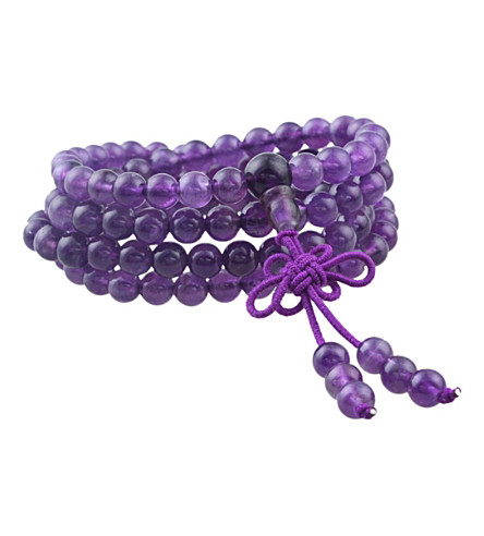PSYCHIC SISTERS Amethyst mala beads