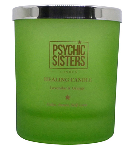PSYCHIC SISTERS Healing candle 150g