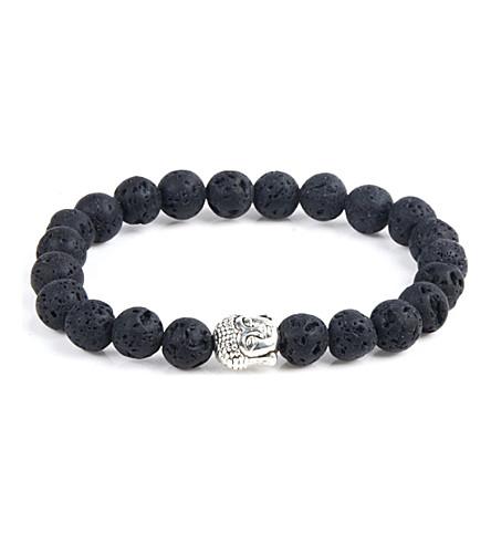 PSYCHIC SISTERS Hematite Buddha bracelet