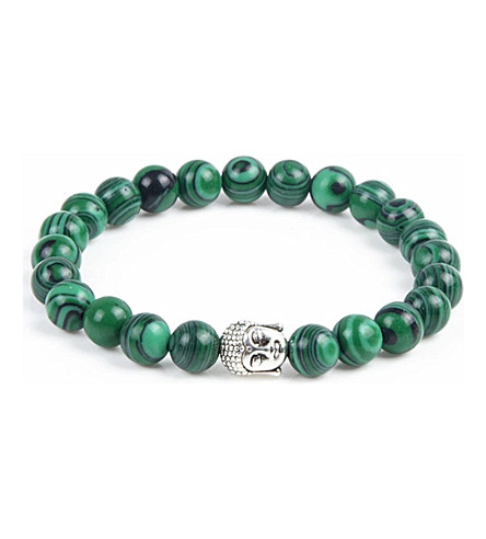 PSYCHIC SISTERS Malachite Buddha bracelet