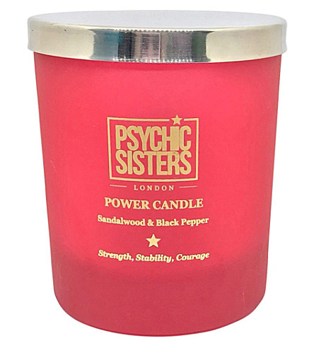 PSYCHIC SISTERS Power Candle 150g