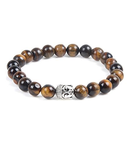 PSYCHIC SISTERS Tiger's eye Buddha bracelet