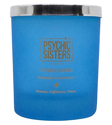 PSYCHIC SISTERS Wish Candle 150g