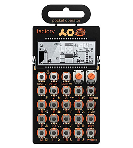 THE CONRAN SHOP PO-16 Pocket Operator Factory synthesiser