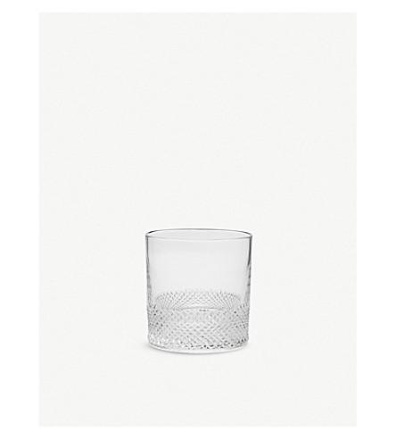 THE CONRAN SHOP Diamond whiskey tumbler