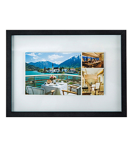THE CONRAN SHOP Aluminium and rubber band picture frame A5