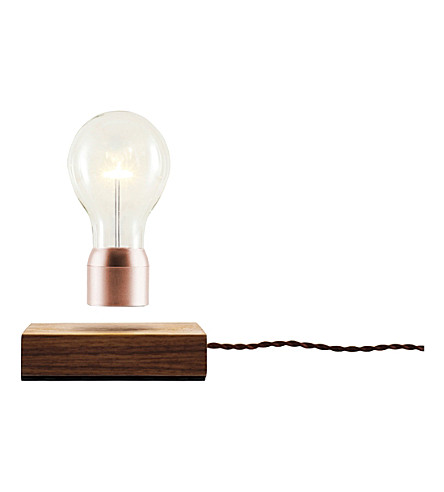 THE CONRAN SHOP Flyte walnut copper LED lightbulb