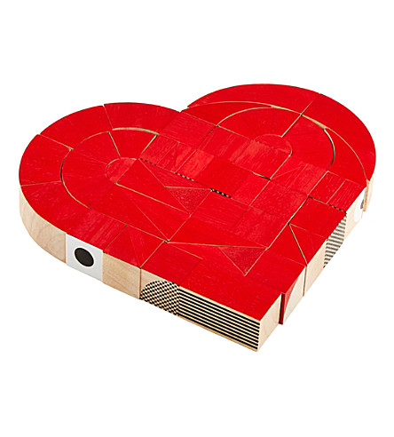THE CONRAN SHOP Heartshapes blocks