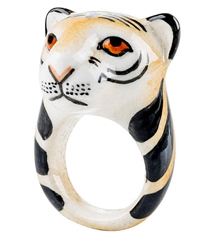 THE CONRAN SHOP Tiger porcelain ring