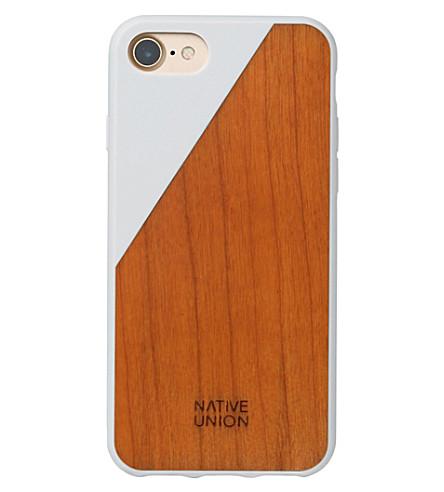 THE CONRAN SHOP CLIC Wooden iPhone 7 case