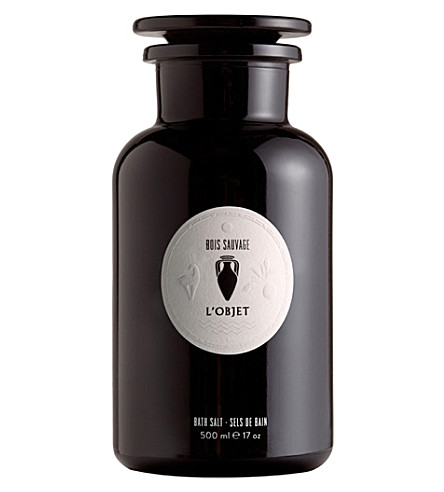 THE CONRAN SHOP Bois Sauvage bath salts 500ml