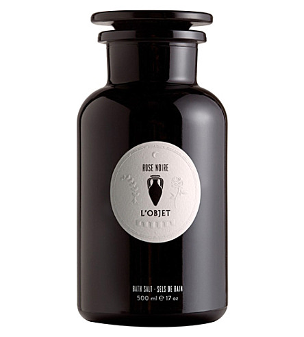 THE CONRAN SHOP Rose Noir bath salts 500ml
