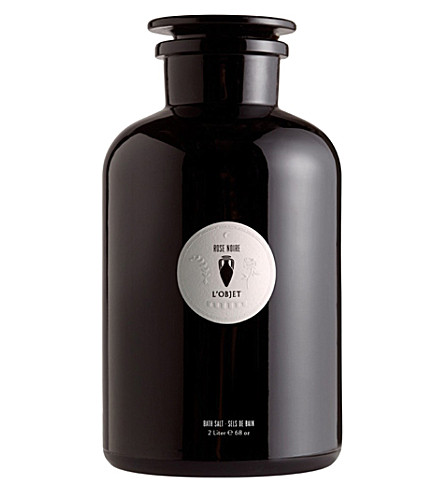 THE CONRAN SHOP Rose Noir bath salts 2L