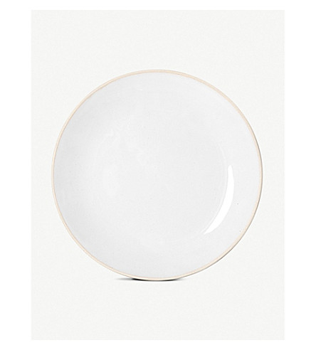 THE CONRAN SHOP Organic clay dinner plate 31cm