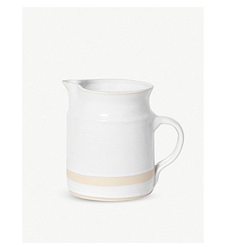 THE CONRAN SHOP Organic clay pouring jug 1 litre