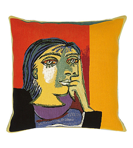 THE CONRAN SHOP Jules Pansu picasso cushion cover 45cm (Multi-coloured