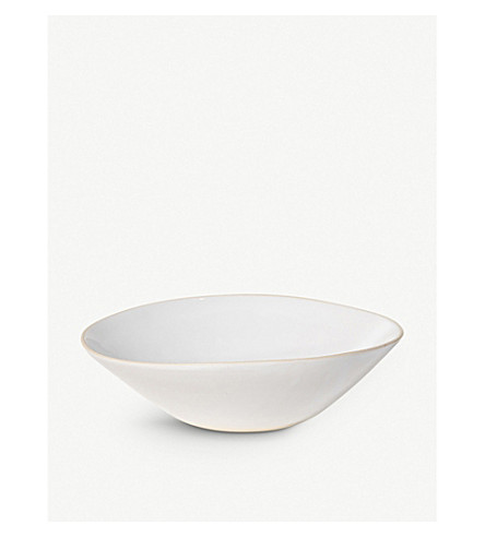 THE CONRAN SHOP Organic Sand large ceramic salad bowl 36cm