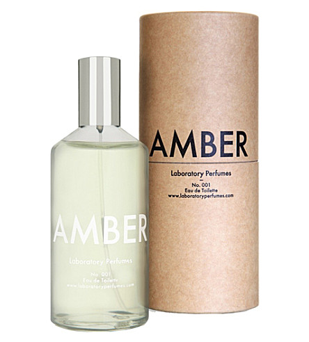THE CONRAN SHOP Laboratory perfumes amber eau de toilette 100ml