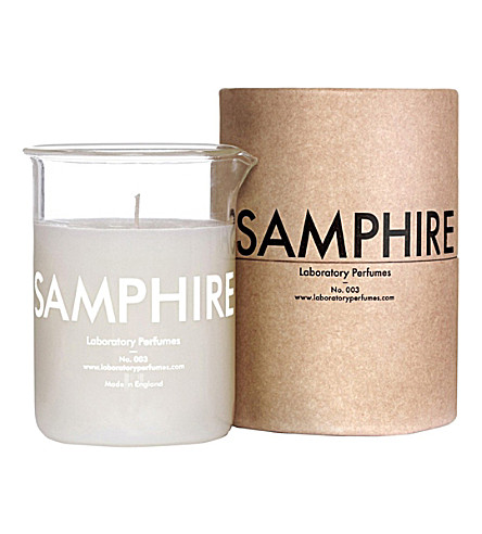 THE CONRAN SHOP Laboratory Perfumes Samphire candle