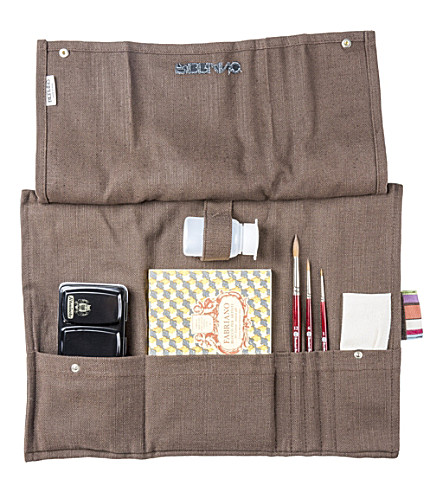 THE CONRAN SHOP Fabriano Artistico linen watercolour set (Brown