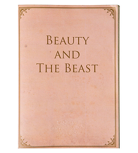 THE CONRAN SHOP Beauty and the Beast notebook
