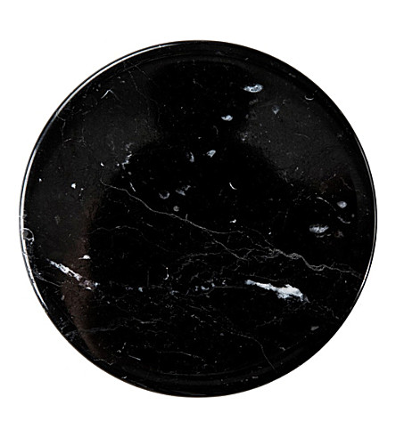 THE CONRAN SHOP Black marble coaster