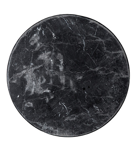 THE CONRAN SHOP Black marble placemat