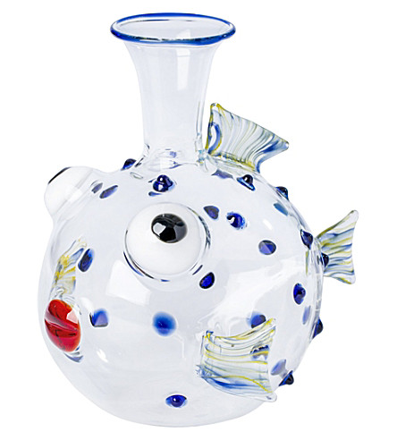 THE CONRAN SHOP Massimo Lunardon Parrot fish glass decanter (Multi-coloured