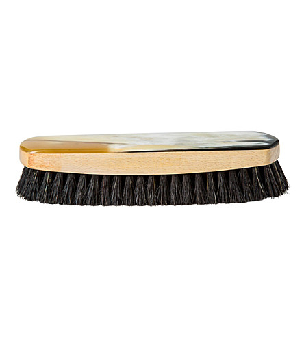THE CONRAN SHOP Large horn-backed shoe brush