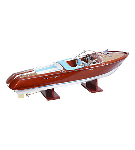 THE CONRAN SHOP Riva Aquarama model boat (None/clear