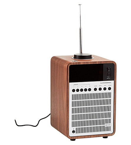 THE CONRAN SHOP SuperSignal DAB radio
