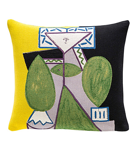 THE CONRAN SHOP Jules Pansu Picasso cushion cover 45x45cm (Multi-coloured
