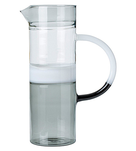 THE CONRAN SHOP Hand-blown glass jug