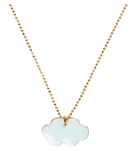 THE CONRAN SHOP Stanley Cloud blue necklace